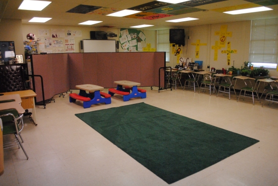 Portable Children's Ministry preschool environment