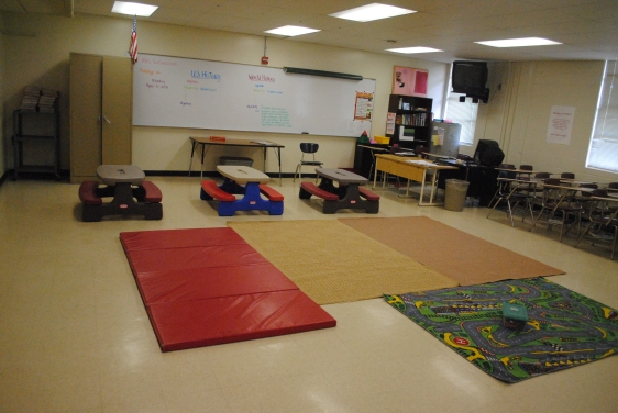 Portable Children's MInistrypreschool environment
