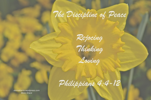 The Discipline of Peace