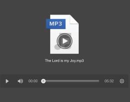 The Lord is my Joy MP3